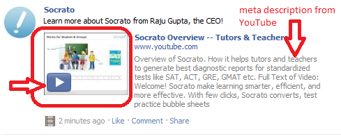 how to turn a link into a word on facebook