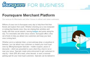 Foursquare-Merchant-Platform