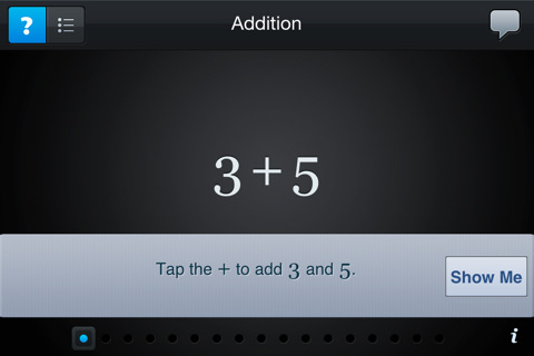 Algebra Touch iPad app