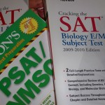 SAT test prep books