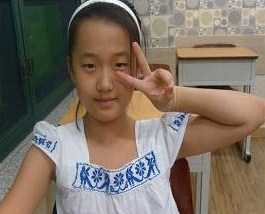 Korean Student at a Hagwon (Private School)